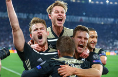 Ajax skipper shocked by 'bizarre' win over Juve