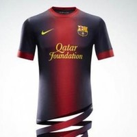 Check out the new Barcelona jerseys