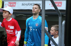 Injured Bayern keeper Neuer laughs off retirement rumours
