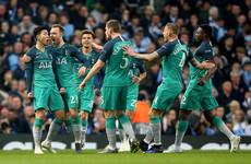 Watch: All 5 goals from a remarkable Man City-Tottenham first half