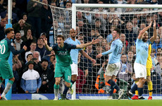 'It has to be a goal' - Llorente stands by controversial score in epic against Man City