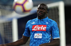 Napoli confirm €150 million release clause for Man United-linked Koulibaly