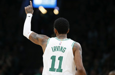 Kyrie Irving: There's 'nothing like' delivering for Boston Celtics in the playoffs