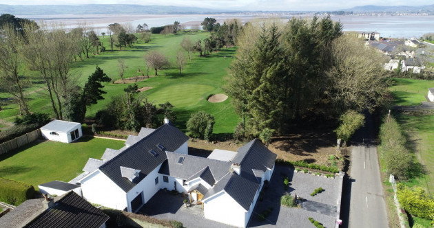 Seconds from the green: Luxury golfers' retreat with sweeping sea views for €750k