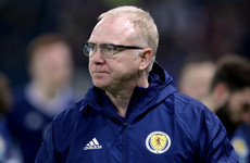 McLeish sacked as Scotland manager after 14 months in charge