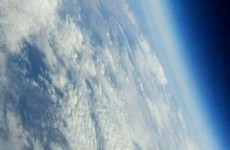 Yet more images of space - from a paper aeroplane