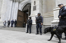 Man arrested after walking into New York cathedral with gasoline and lighters
