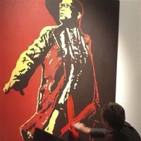 VIDEO: Controversial Jacob Zuma painting defaced at gallery