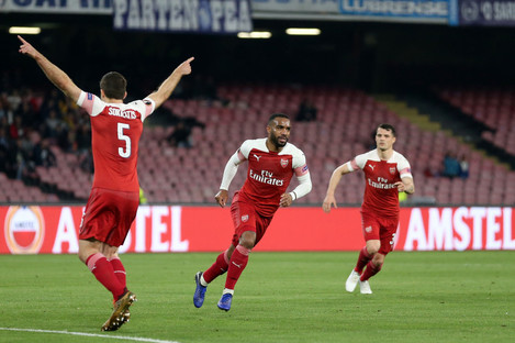 Alexandre Lacazette scored the only goal of the game.