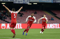 Lacazette's stunning free-kick secures Arsenal's Europa League semi-final berth