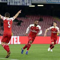 Lacazette's stunning free-kick secures Arsenal's Europa League semi-final berth