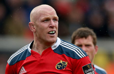 'I won't be back in the short-term future': Paul O'Connell rules out immediate Munster return
