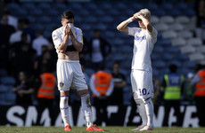 Leeds' promotion hopes suffer massive blow as 10-man Wigan triumph at Elland Road