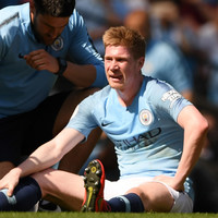 'It's a pity' - Guardiola unsure over extent of De Bruyne injury