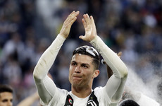 Ronaldo '1,000 per cent' committed for next season as Juventus claim eighth successive title
