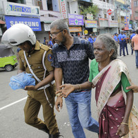 207 people killed and hundreds injured after explosions strike hotels and churches in Sri Lanka