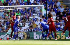 LIVE: Cardiff City v Liverpool, Premier League