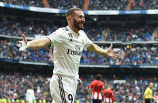 Hat-trick hero Benzema scores for fifth game in a row to seal Real Madrid victory