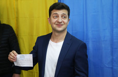 Comedian wins 'landslide victory' in Ukranian presidential election, exit polls indicate