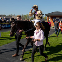 Voix Du Reve leads home a Gold Cup one-two for Willie Mullins at Fairyhouse