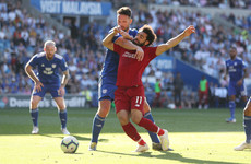 Warnock scores Salah tumble '9.9' as he compares Liverpool striker to Tom Daly