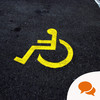 We need to change the disabled parking logo - so people stop telling me that I'm not disabled when I am