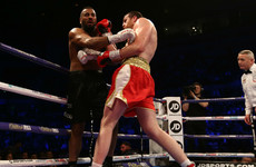 British heavyweight handed six-month ban for biting opponent