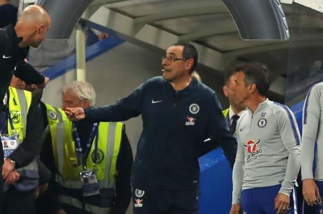 Chelsea head coach Maurizio Sarri
