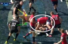 Analysis: How Saracens took away Tadhg Beirne's jackal threat