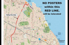 Dalkey Tidy Towns won't be removing candidates' posters during the election campaign (despite saying they would)