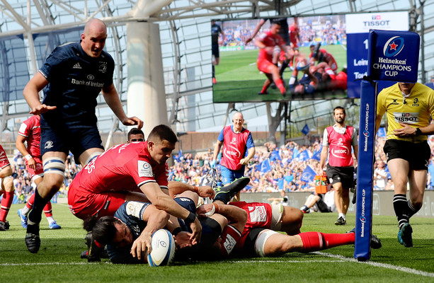 'I'm not sure who else could have scored that try'