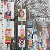 And they're off! Local election posters spring up hours early - some want to rip them down already