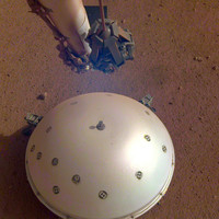 Nasa Mars lander picks up what's likely first detected 'Marsquake'