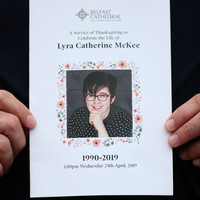 'The pain will never ease': Funeral of Lyra McKee takes place in Belfast