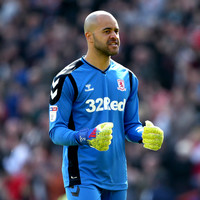 Fellow professionals select Randolph as Championship's top goalkeeper