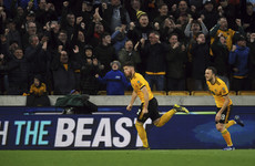 Matt Doherty scores again as Wolves deal huge blow to Arsenal's top four hopes