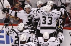 Kings of the west: LA reach second ever Stanley Cup final