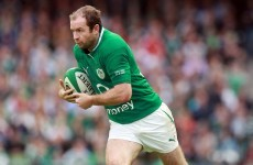 For good this time: Murphy retires from international rugby