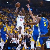 Clippers upset Warriors to keep champions waiting while Harden-led Rockets power on
