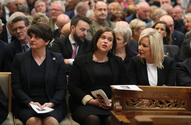 McDonald and Foster feel the heat but do not concede on the issues blocking Stormont