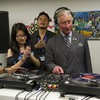 VIDEO: DJ Prince Charles hits the decks, spins some tunes