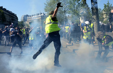 Emmanuel Macron says yellow vest violence must stop as he offers 'significant' tax cuts