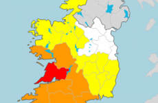 Status Red wind warning issued for Co Clare as Storm Hannah to bring gusts of up to 150km/h