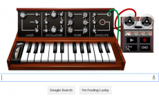 Who is Robert Moog, and what's this Google Doodle all about?