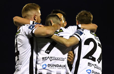 Dundalk cut Shamrock Rovers' lead as Hoban makes history