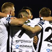 Dundalk cut Shamrock Rovers' lead as Hoban makes history