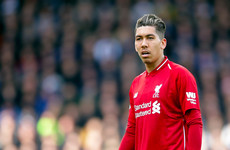 Roberto Firmino injury casts shadow over Liverpool's five-goal rout