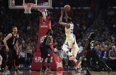 Durant nets 50 as Warriors advance to NBA second round