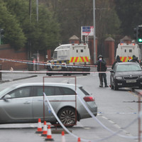 Two men arrested over fatal shooting of man outside Belfast school released unconditionally