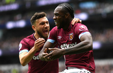 Antonio strike sinks Spurs as top-four race intensifies